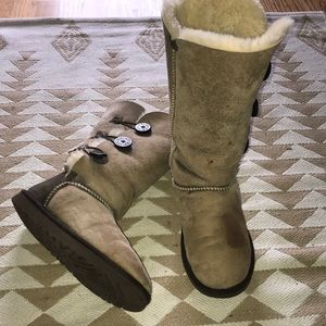 Ugg tall button boots
